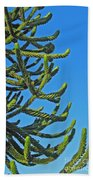 Monkey Puzzle Tree Bath Towel