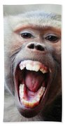 Monkey's Smile Bath Towel