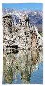 Mono Lake And Sierra Mtns Bath Towel