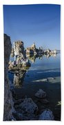 Mono Lake Tufas 3 Bath Towel