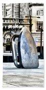 Monopoly Iron Statue In Philadelphia Hand Towel