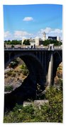 Monroe Street Bridge - Spokane Bath Towel