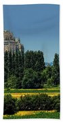 Mont Saint Michel Bath Towel