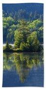 Mont Tremblant National Park Bath Towel