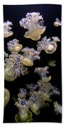 Monterey Aquarium Jellyfish Bath Towel