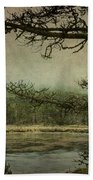 Monterey Bay - The Other Side Bath Towel