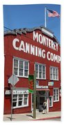Monterey Cannery Row California 5d25045 Bath Towel