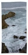Monterey Rocks - California Bath Towel