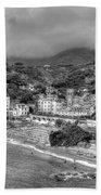 Monterosso Al Mare - Cinque Terre In Grey Bath Towel