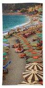 Monterosso Beach Bath Towel