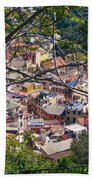 Monterosso From Above - Cinque Terre Bath Towel