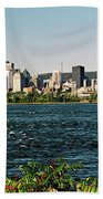 Montreal - Sur Le Fleuve  Bath Towel