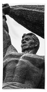 Monument To The People 0131 - Textured Pencil Hand Towel