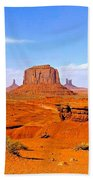 Monument Valley - Panorama Bath Towel