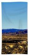 Monument Valley Region-arizona V2 Bath Towel