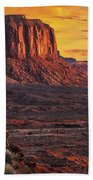 Monument Valley Sunrise Hand Towel