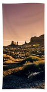 Monument Valley -utah V7 Bath Towel