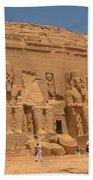 Monumental Abu Simbel Bath Towel