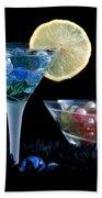 A Creative Cocktail - Moon Light Cocktail Lemon Flavour 1 Bath Towel