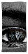 Moonlight In Your Eyes Bath Towel
