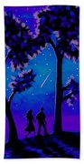 Moonlight Walk Bath Towel