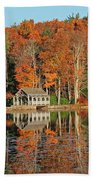 Moore State Park Autumn I Bath Towel
