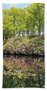 Moore State Park Water Reflections Hand Towel