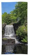 Moore State Park Waterfall 3 Hand Towel