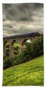 Moorswater Viaduct  Bath Towel
