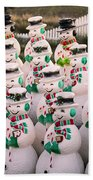 More Snowmen Bath Towel