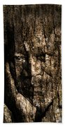 Morgan Freeman Roots Digital Painting Hand Towel