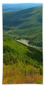 Moormans River Overlook In Spring Bath Towel