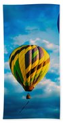 Morning Flight Hot Air Balloons Bath Towel