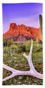 Morning In Organ Pipe Cactus National Monument Bath Towel