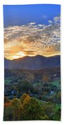 Morning Light Over Leicester Bath Towel