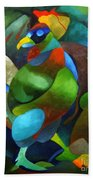 Morning Rooster Bath Towel