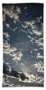 Morning Sky Fantasy Bath Towel