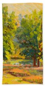 Morning Through The Trees Bath Towel