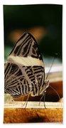 Mosaic Butterfly Bath Towel