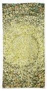 Mosaic Galaxy In Gold Bath Towel