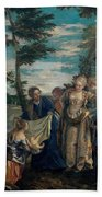 Moses Saved From The Waters Hand Towel