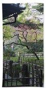 Moss Garden Temple - Kyoto Japan Bath Towel