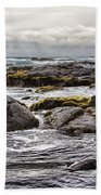 Moss Rocks Hawaii Bath Towel