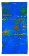 Mother Earth 1 Abstract Bath Towel