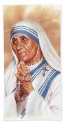 Mother Teresa Bath Towel