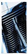 Motorcycle Engine Bath Towel