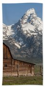 Moulton Barn - Grand Tetons I Bath Towel