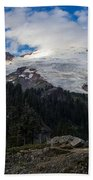 Mount Baker View Bath Towel