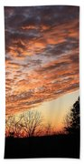 Mount Cheaha Sunset-alabama Bath Towel