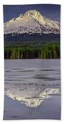 Mount Hood Reflections Bath Towel